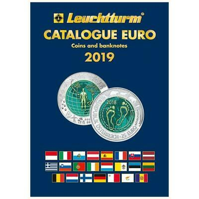 Lighthouse Leuchtturm Euro Catalogue for Coins and Banknotes 2019 English