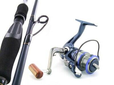 SARATOGA EGI Carbon Fibre 7'6 6kg Squid Spinning Fishing Rod and Reel Combo