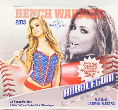 2013 Benchwarmer Bubblegum 24ct Display Box