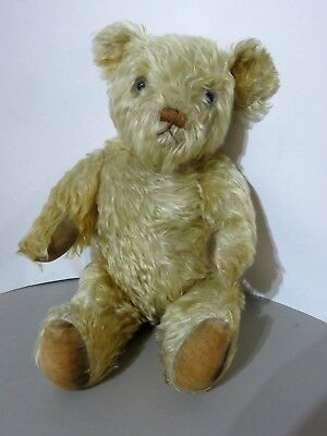 b83d6ee72de VINTAGE   ANTIQUE Mohair Teddy Bear. Needs Help and Attention. 19 ...