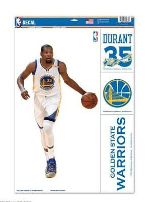 Kevin Durant Golden State Guerrieri 4 Adesivo Decalcomania Badges Set Basket NBA