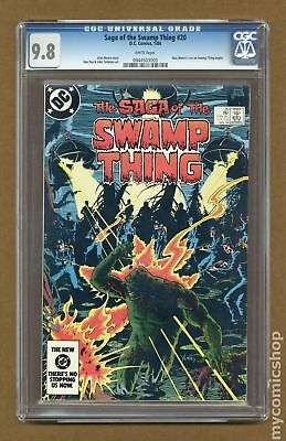 Swamp Thing (2nd Series) #20 1984 CGC 9.8 0944503003