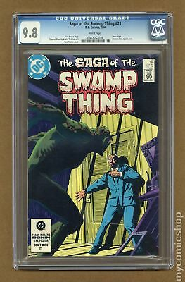Swamp Thing (2nd Series) #21 1984 CGC 9.8 0962052036