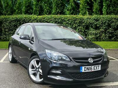2016 Vauxhall Astra Limited Edition 1.6 5dr Petrol black Manual