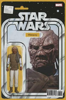 Star Wars #47 Weequay Action Figure Variant A Comic Book John Tyler Christopher