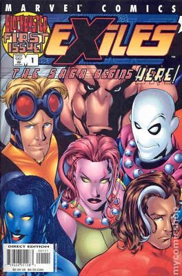 Exiles (1st Series Marvel) #1 2001 FN Stock Image