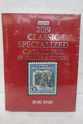 2019 Scott Classic Catalogue of Worldwide Stamps and Covers 1840-1940