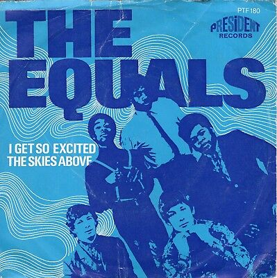 7inch THE EQUALSrub a dub dubHOLLAND 1969 EX (S2642)