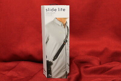 Peak Design Slide Lite Camera Strap SLL-BK-3 Black, NEW #N1