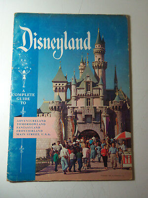 1956 A Complete Guide to DISNEYLAND Book w/ Photos & Maps ADVENTURELAND etc
