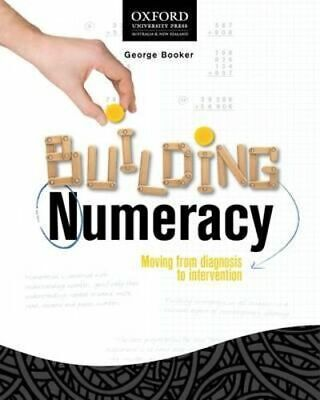 NEW Building Numeracy By George Booker Paperback Free Shipping