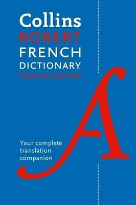 NEW Collins Robert French Dictionary: Concise Edition By Collins Dictionaries