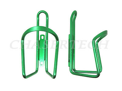 New MTB Road City Touring Bicycle Bike Alloy Bottle Cages Silver 1 Pair