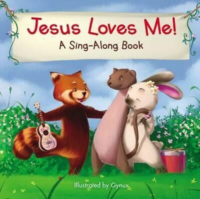 NEW Jesus Loves Me By Gynux Board Book Free Shipping
