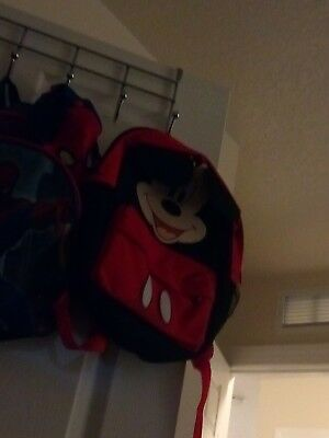 Disney Mickey Mouse Kids Toddler Backpack School Bookbag Boys 12