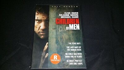 Children Of Men Dvd 2007 Movie Video Film Disc Clive Owen Julianne Moore Fantasy