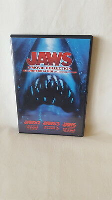 Jaws 3-Movie Collection 2 / 3 / The Revenge ( DVD, 2015, 2-Disc Set ) SHARK