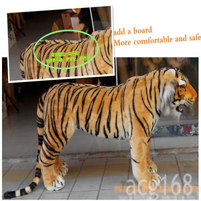 125cm*60cm Giant Big @ Tiger Simulation Likelife Plush Soft Toys Gift US