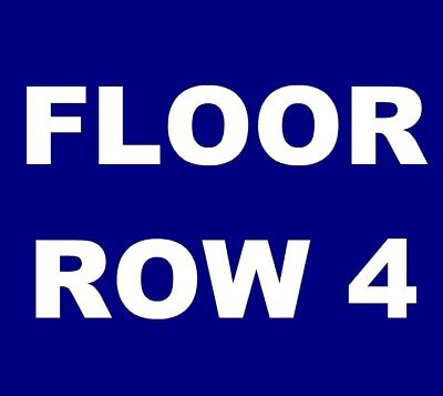 Hozier tickets Denver Bellco Theatre 4/5 *** FLOOR 2, ROW 4! ***