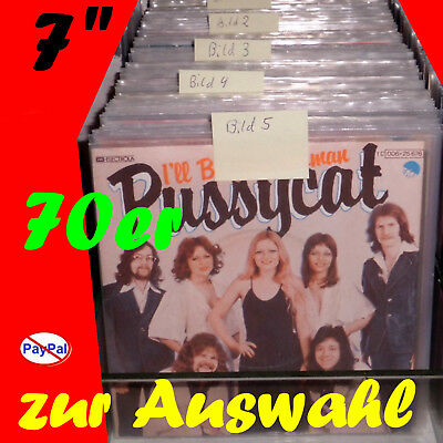 """7"""" # zur Auswahl (Paco Paco / Pussycat / Oliver Onions / Michael Nesmith / Dawn)"""