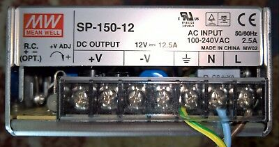 Mean Well Power Supply SP-150-12