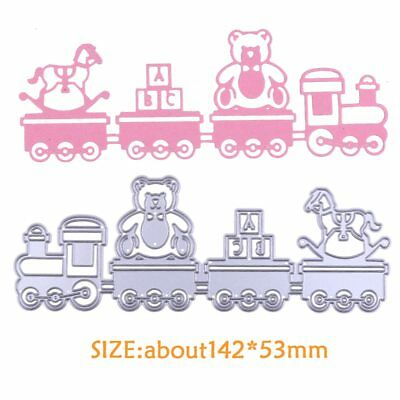 Baby Toy Car Metal Cutting Dies Stencil DIY Scrapbooking Paper Crafts Die Cuts