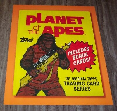 VINTAGE STYLE PLANET OF THE APES TOPPS NYCC Comic Con 2017 PROMO POSTER
