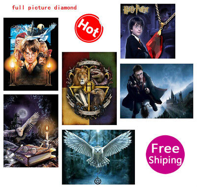 AU Harry Potter Style Full Drill DIY Diamond Painting Embroidery Cross Stitch HE