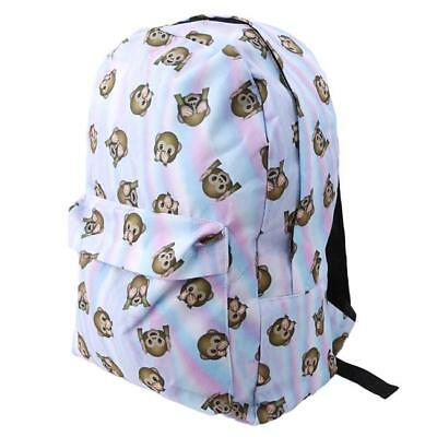 Animals Unicorn Rainbow Lover Canvas Bag Backpack Rucksack School Student Bag HC