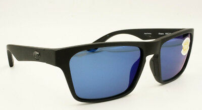 deb4229c75577   New Costa Del Mar Hinano Matte Black Sunglasses Blue Polarized HNO01OBMP