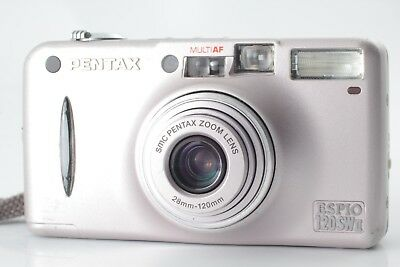 【Exc+++】 Pentax Espio 120SW II 35mm Point & Shoot Film Camera From Japan ♯038