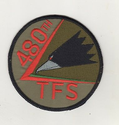 Aufnäher Patches Air Force 480th Fighter Squadron Spangdahlem Air Base