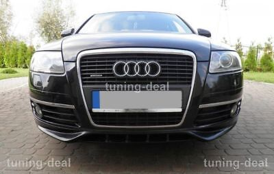 Audi A6 C6 4f Limo Avant Frontspoilerlippe Spoiler Tuning Look