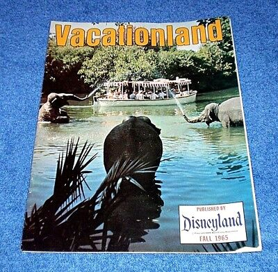 Fall 1965 Disneyland Vacationland Magazine