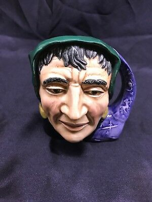 Royal Doulton Character Mug / Jug. D6503. The Fortune Teller. 10cm Tall.