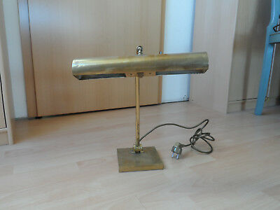 alte Messinglampe