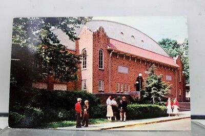 Ohio OH Lakeside Hoover Auditorium Postcard Old Vintage Card View Standard Post