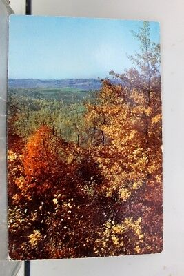 Scenic Mountain Autumn Nature Reigns Freneau Postcard Old Vintage Card View Post