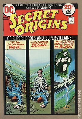 Secret Origins (1st Series) #5 1973 VF- 7.5