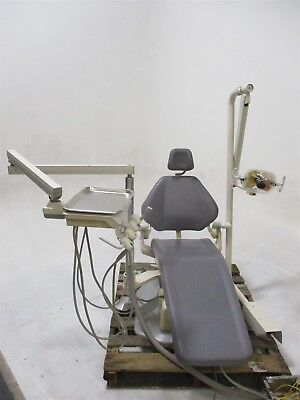 Adec 1020 Dental Exam Patient Chair w/ Operatory Delivery System & Light