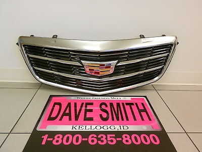 Cadillac GM OEM 15-16 ATS Front Bumper Grille Grill-Assy 22879627