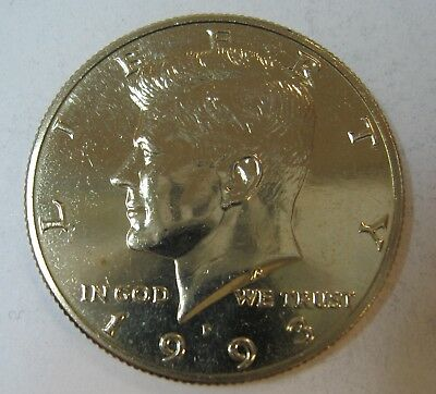 1993-P John F Kennedy Clad Half Dollar Choice BU Condition From Mint Set  DUTCH