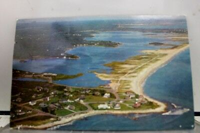 Rhode Island RI Weekapaug Aerial Postcard Old Vintage Card View Standard Post PC