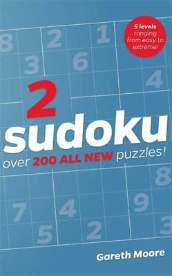 Sudoku 2 by Gareth Moore, NEW Book, (Paperback) FREE & Fast Delivery