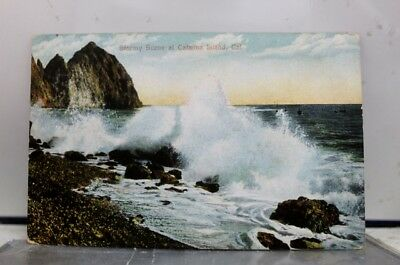 California CA Catalina Island Stormy Postcard Old Vintage Card View Standard PC