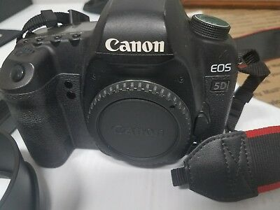Canon EOS 5D W/charger & 3 batteries (Body Only) mark ii mark 2