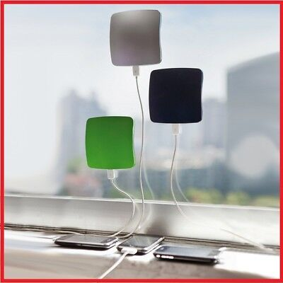 Phone Solar Battery USB Charger 1800 / 5200 mah Window Power Bank Portable