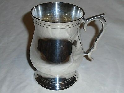 Lovely Silver Plated Tankard