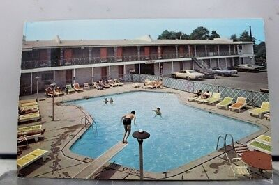 New Jersey NJ Benedict Motel Linden Postcard Old Vintage Card View Standard Post