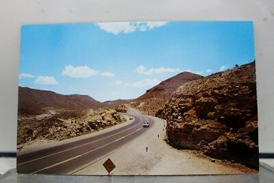 Texas TX Hueco Mountains Highway Postcard Old Vintage Card View Standard Post PC